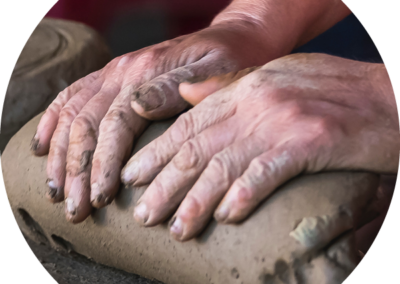 Art Therapy with Clay in Brisbane